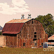 Mancos Colorado Barn Art Print