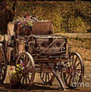 Mancos Flower Wagon Art Print