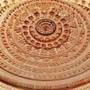 Mandala - Jain Temple Ceiling - Amarkantak India Art Print
