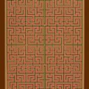 Mandala. 85 Art Print