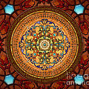 Mandala Arabia Sp Art Print