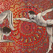 Mandala Dance Art Print