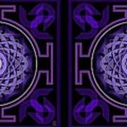 Mandala Hypurplectic - Stereogram Art Print