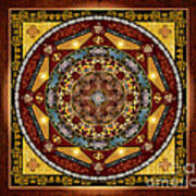 Mandala Oriental Bliss Sp Art Print