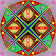 Mandala0504 Art Print