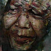 Mandela   Art Print by Paul Lovering