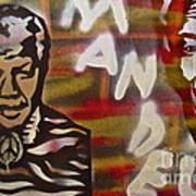 Mandela Art Print by Tony B Conscious