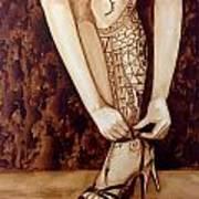 Mandirigma In Stilettos Art Print