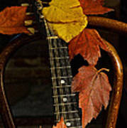 Mandolin Autumn 1 Art Print