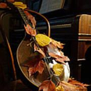 Mandolin Autumn 2 Art Print