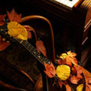 Mandolin Autumn 5 Art Print
