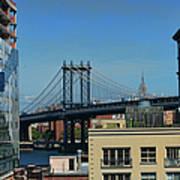 Manhattan Bridge From Brooklyn Art Print