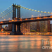 Manhattan Bridge I Art Print