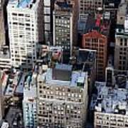 Manhattan From Above Art Print