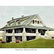 Manhattan Kansas - Manhattan Country Club - 1920 Art Print
