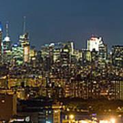 Manhattan Skyline, New York City, New Art Print