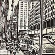 Manhattan Art Print by William Cauthern