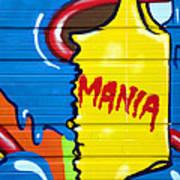 Mania Art Print