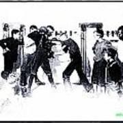 Manly Art Of Boxing Art Print