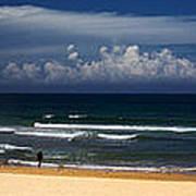 Manly Beach panorama Art Print