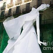 Mannequin In Barcelona Art Print by Victoria Herrera