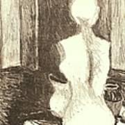 Mannequin Life Art Print