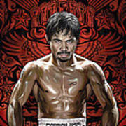Manny Pacquiao Artwork 1 Art Print