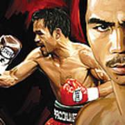Manny Pacquiao Artwork 2 Art Print