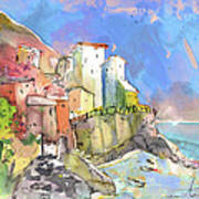Manorola In Italy 05 Art Print