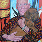 Man's Best Friend Art Print by Tom Roderick