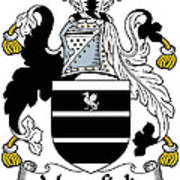 Mansfield Coat Of Arms Irish Art Print