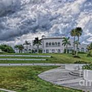 Mansion At Tuckahoe In Jensen Beach Florida Art Print