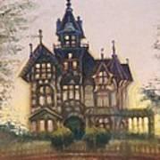 Mansion In Eureka Art Print