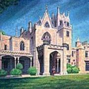 Mansion In Tarrytown Art Print