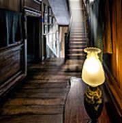 Mansion Lamp Art Print