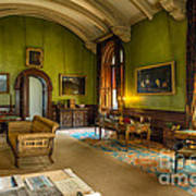 Mansion Lounge Art Print