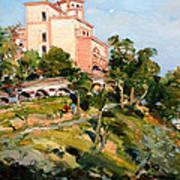 Mansion Of King Zogu  Art Print