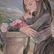 Mantilla Art Print