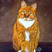 Manx Cat Art Print