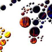 Mapamundi - World Map Art Print