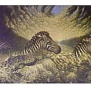 Mara Crosasing Art Print