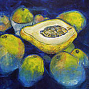 Maracuya/passion Fruit Art Print