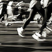 Marathon, Nyc, New York City, New York Art Print