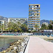 Marbella Resort In Spain Art Print