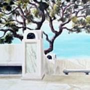 Marble Courtyard Art Print