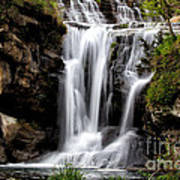 Marble Falls Waterfall 3 Art Print