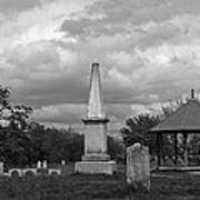Marblehead Old Burial Hill Cemetery Art Print