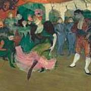 Marcelle Lender Dancing The Bolero In Chilperic Art Print