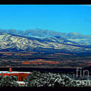 March In New Mexico Art Print