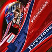 Marco Andretti Focused Art Print